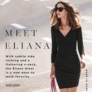 Diane von Furstenburg Eliana Ruched Sheath Dress